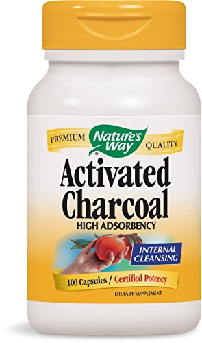 Nature's Way Activated Charcoal, 100 Capsules (Ways To Use Co compare prices)