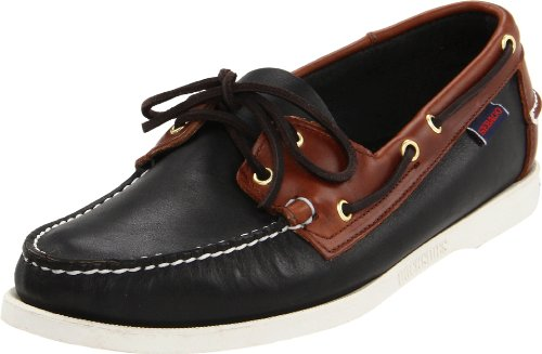 Sebago Men's B72871 Moccasins black EU 43.5