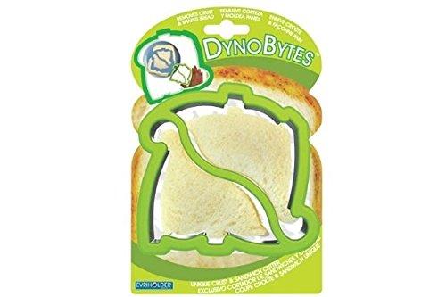 DynoBytes Stainless Steel Sandwich Bread Crust Cutter - Dinosaur Theme