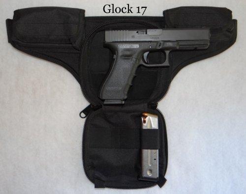 DTOM Law Enforcement Concealed Carry Fanny Pack CORDURA NYLON – Black image