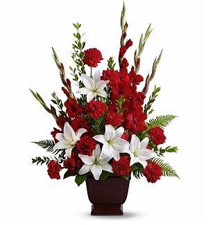 Funeral Flowers – Tender Tribute Bouquet