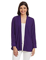 AND Womens Jacket (AW15V5426JKWPT_Purple_10)