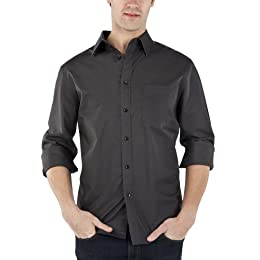 Product Image Merona® Washed Poplin Shirt - Charcoal
