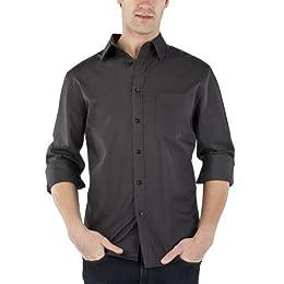 Product Image Merona® Washed Poplin Shirt - Charcoal