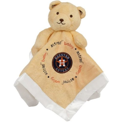 Baby Fanatic Security Bear Blanket, Houston Astros front-1048277