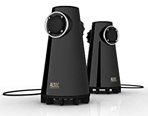 Altec Lansing Premium speakers for PC & MP3 players with built-in dual subwoofers