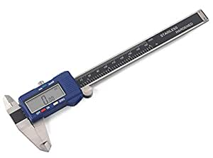 Neiko 01412A Pro-Quality Digital Caliper with LCD Screen and Standard/Metric/Fraction Conversion, Stainless Steel