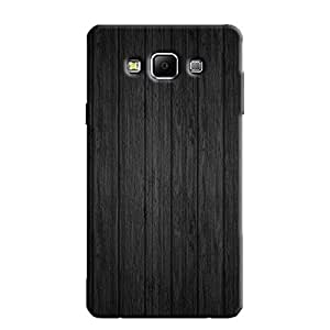 BLACK WOOD BACK COVER FOR SAMSUNG A7