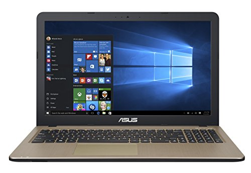 Asus X540SA-XX018T Portatile, Display da 15.6 pollici HD LED, Processore Intel Pentium QuadCore N3700, RAM 4GB, HDD da 500GB, Marrone/Nero
