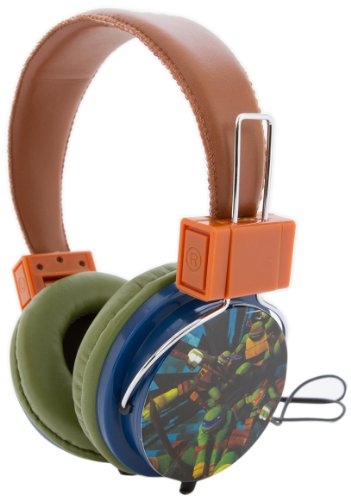 Teenage Mutant Ninja Turtles 35165-Wal Nickelodeon Tmnt Headphone