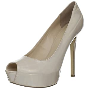 Enzo Angiolini Women's Tanen 3 Platform Pump,Light Natural,9 M US