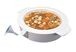 Ableware 745211000 Keep Warm Dish, Plastic, White