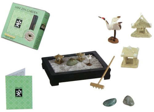 Buy Miniature Japanese Zen Rock Garden Gift Kit
