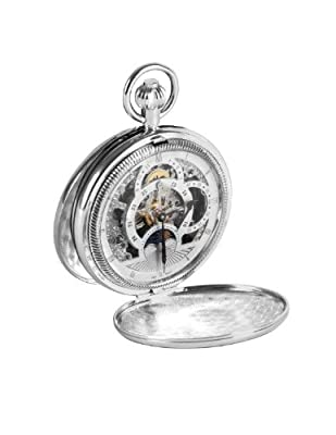 Woodford Pocket Watch 1083 Chrome Plated Double Hunter