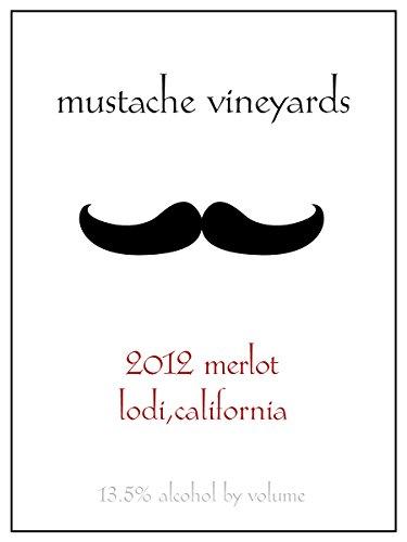 Mustache Vineyards Merlot 750 Ml