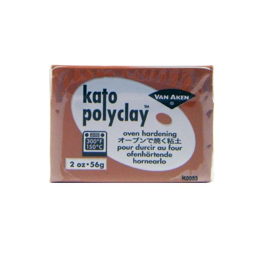 Kato Polyclay Brown 2oz - 1