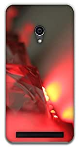 The Racoon Grip Scarlet Crystal hard plastic printed back case / cover for Asus Zenfone 4 A450CG