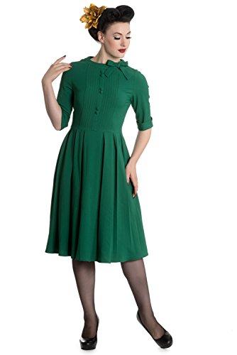 Hell Bunny -  Vestito  - Donna verde M