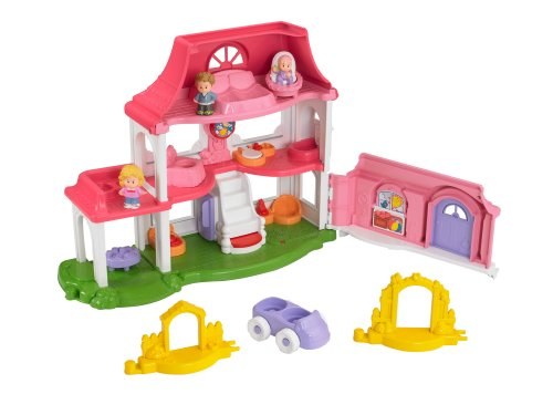 Fisher-Price Little People Happy Sounds Home - 1