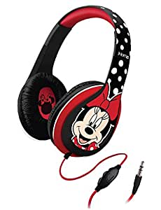 Minnie Mouse Over-the-Ear Headphones with Volume Control, DM-M403