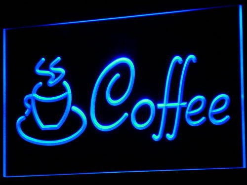 Adv Pro I433-B Coffee Cup Shop Cappuccino Cafe Neon Light Sign