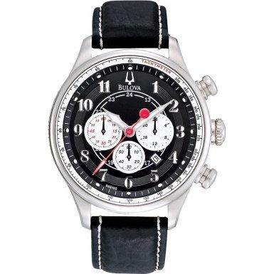 Bulova 96B150 Mens ADVENTURER Chronograph Black Watch