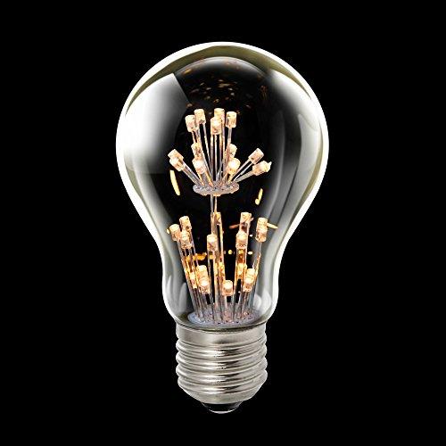 LED Rustika Carbon Glühbirne 1,5W = 15W E27 warmweiß 2100K Deko Glühlampe A++