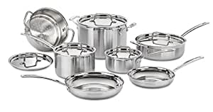 Cuisinart MCP-12N MultiClad Pro Stainless Steel 12-Piece