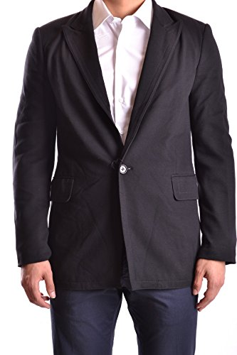 dirk-bikkembergs-mens-mcbi097014o-black-polyamide-blazer