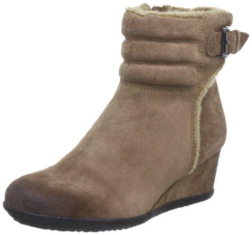 Geox Women's D Amelia St E Boots Beige Beige (Taupe) 4 (36.5 EU)