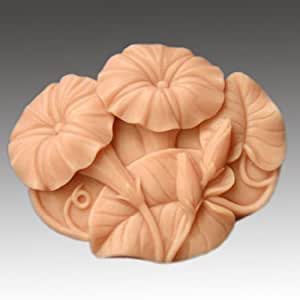 Morning Glory 50103 Craft Art Silicone Soap mold Craft Molds DIY Handmade soap molds