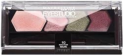 Maybelline New York Eye Studio Color Plush Silk Eyeshadow, Mad for Mauve 10, 0.09...