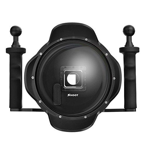 SHOOT Pro 3.0 Version 6 '' pouces Plongée sous-marine de poche Stabilisateur Lens Hood Dome Port Dome Lens pour Gopro Hero 3 + / 4 caméra avec