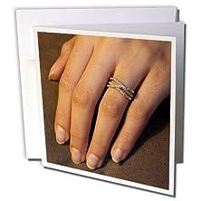 buy Danita Delimont - Love - Wa, Seattle, Detail Of Engagement Ring - Us48 Aks0038 - Alim Kassim - 1 Greeting Card With Envelope (Gc_95098_5)