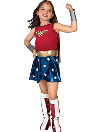 Amazon.com: Wonder Woman Child Md Kids Girls Costume: Childrens Costumes: Clothing