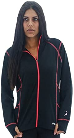Buy Fila Ladies Comfort Knit Full Zip Polyester Jacket by Fila