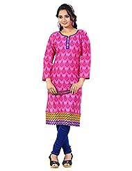 Arista Designer Ready To Wear Pink Kurti Size - 38 (KR92)