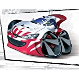 Speed Freaks Cars - Pug Nation - Peugeot 206 GTI