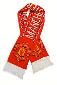 Manchester United FC - Premium Fan Scarf, Ships from USA