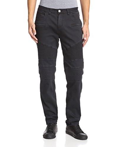 Darring Men's Anarchy Waxed Moto Jean