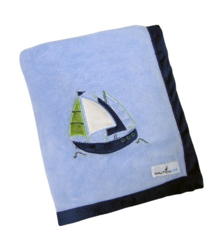 Nautica Zachary Coral Fleece Blanket