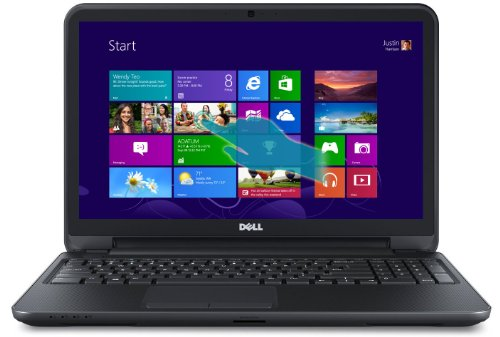 Dell Inspiron 15 (3521) i15RV-6143BLK 15.6-Inch Touchscreen Laptop (Black Matte with Textured Finish)