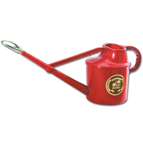 Haws Outdoor Deluxe Watering Can RED