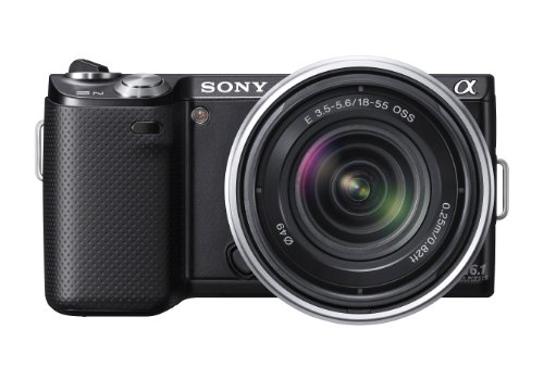 41JkpUxOo6L Sony NEX 5N 16.1 MP Compact Interchangeable Lens Touchscreen Camera with 18 55mm Lens (Black)