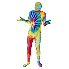 Green Man Factory Unisex Adult Tie-Dye Body Suit - Small