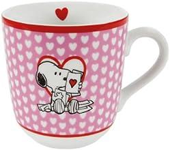 """Unitedlabels AG 0116684 - Tazza """"I Love Snoopy"""", motivo """"il meglio di Snoopy"""""""
