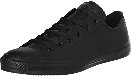 Converse Unisex Chuck Taylor As Ox Black Mono Basketball Shoe 5 Men US / 7 Women US