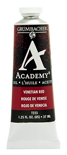 Grumbacher Academy Oil Paint, 37ml/1.25 Ounce, Venetian Red (T223)