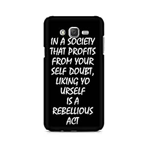 Ebby Live yourself Premium Printed Case For Samsung J5