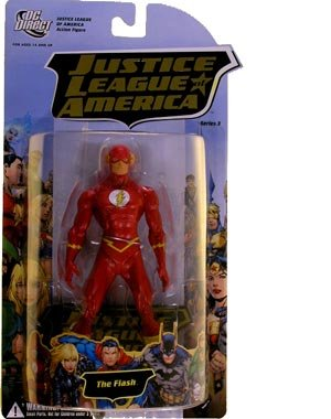 Buy Low Price DC Comics Justice League of America Series 3 Flash Action Figure (B001AZV83C)